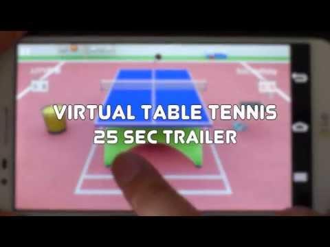 Vídeo do Virtual Table Tennis
