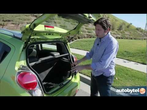 2013 Chevrolet Spark 2LT Test Drive & Urban City Car Video Review