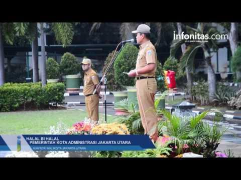 Halal Bi Halal Pemerintah kota Administrasi Jakarta Utara