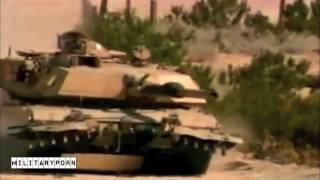 M1A1 Abrams Tank Amazing Video - MilitaryPorn