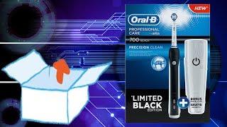 Unboxing | BRAUN Oral-B Professional Care 700 Black Edition Elektrische Zahnbürste