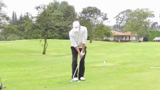 preview picture of video 'JAVIER FRANCO GOLF SWING'