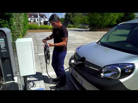 Renault  Kangoo Ze Минивен класса M - рекламное видео 2