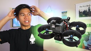 Noob Learns to Build an FPV Drone (Cinewhoop Squirt V2)