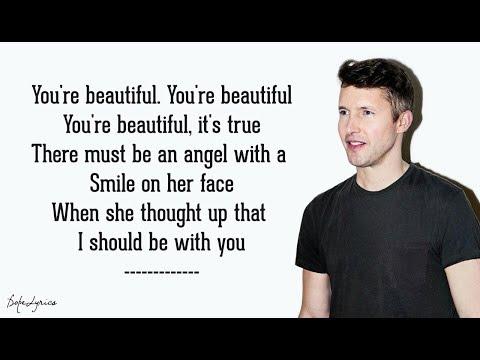 You're Beautiful - James Blunt (Lyrics) 🎵