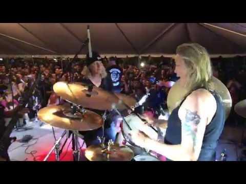 Nicko McBrain Drum cam Rime of the Ancient Mariner