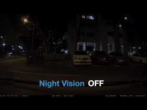 Parking Mode Night Vision Test by Wow!Gadget