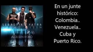 Alguien Robó - Sebastián Yatra ft Wisin, Nacho (Lyric Video)