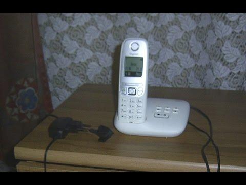 Funktionsprüfung-Gigaset A415A schnurloses Festnetztelefon  mit Anrufbeantworter,wireless phone