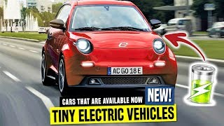 10 Smallest Electric Cars for Commuting on the Cheap in 2020