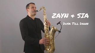 ZAYN Ft. Sia   Dusk Till Dawn [Saxophone Cover] By Juozas Kuraitis