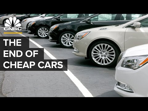 Why Cheap Cars Are Disappearing
