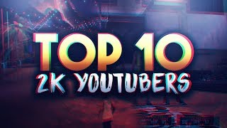 TOP 10 NBA 2K17 YOUTUBERS