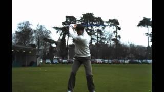 Bradley Dredge - Driver in Super Slow Motion