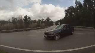 Bmw e46 320d Drift Roundabout HD