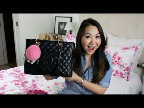 What's in my bag & mini Chanel GST review