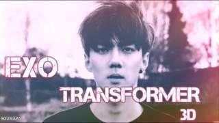 EXO - Transformer [ 3D USE HEADPHONES ]