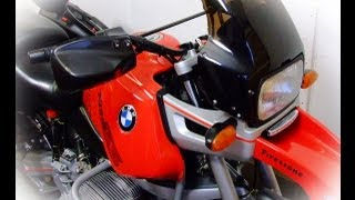 preview picture of video 'BMW R1100 GS ABS 1997 57K £1 Start (UK Delivery £109+VAT) :)'