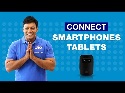How to Connect JioFi to your Smartphone or Tablet?