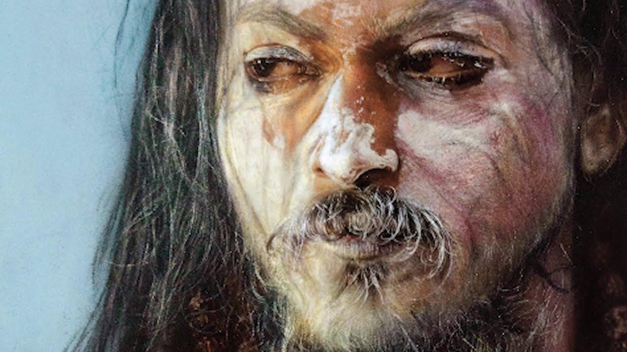 hyper realistic portrait rangoli sadhuwaad by pramod sahu