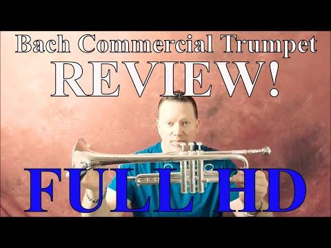 Bach Stradivarius Commercial Trumpet Comprehensive Review Video!