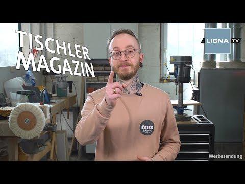 LIGNA.TV Tischler-Magazin: Nischenprodukte aus Holz