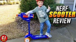 Nerf Scooter – With Mounted Double Barrel Blaster 2019 Review