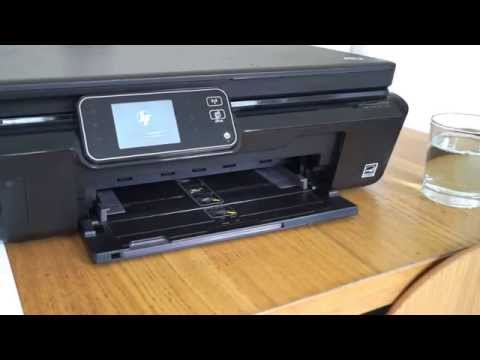 How to fix a HP Printer, not printing black ink and missing colours 5510 5515 5520 5524 3070A 364