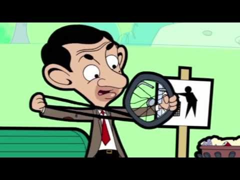 Mr Bean – Catapults Ball On To The Roof