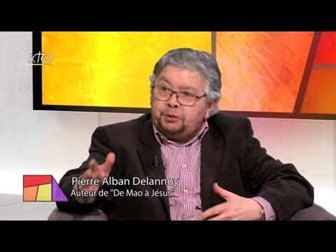 Pierre Alban Delannoy. Venu de la Gauche prolétarienne, il raconte son chemin de Mao à Jésus