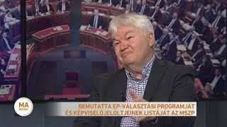 Bemutatta EP-választási Programját és Képviselőjelöltjeinek Listáját Az MSZP