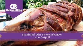 Spanferkel oder Schweinebonbon vom Gasgrill | DeissenBlog