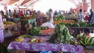 preview picture of video 'Food Market Port Vila Vanuatu - Vanuatu Port Vila Tours & Adventures       [HD]'