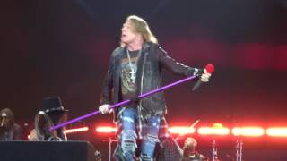 Guns'N'Roses – Intro & It's So Easy – Werchter TW Classics – 24.06.2017