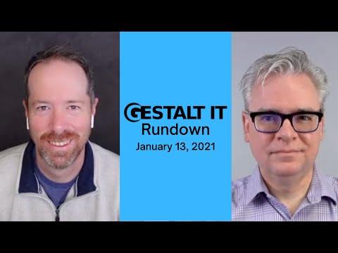 Intel CEO Stepping Down in February | Gestalt IT Rundown: January 13, 2021