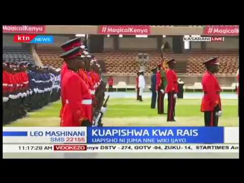 Usalama kuimarishwa katika uwanja wa Kasarani ambapo rais mteule Uhuru Kenyatta ataapishwa