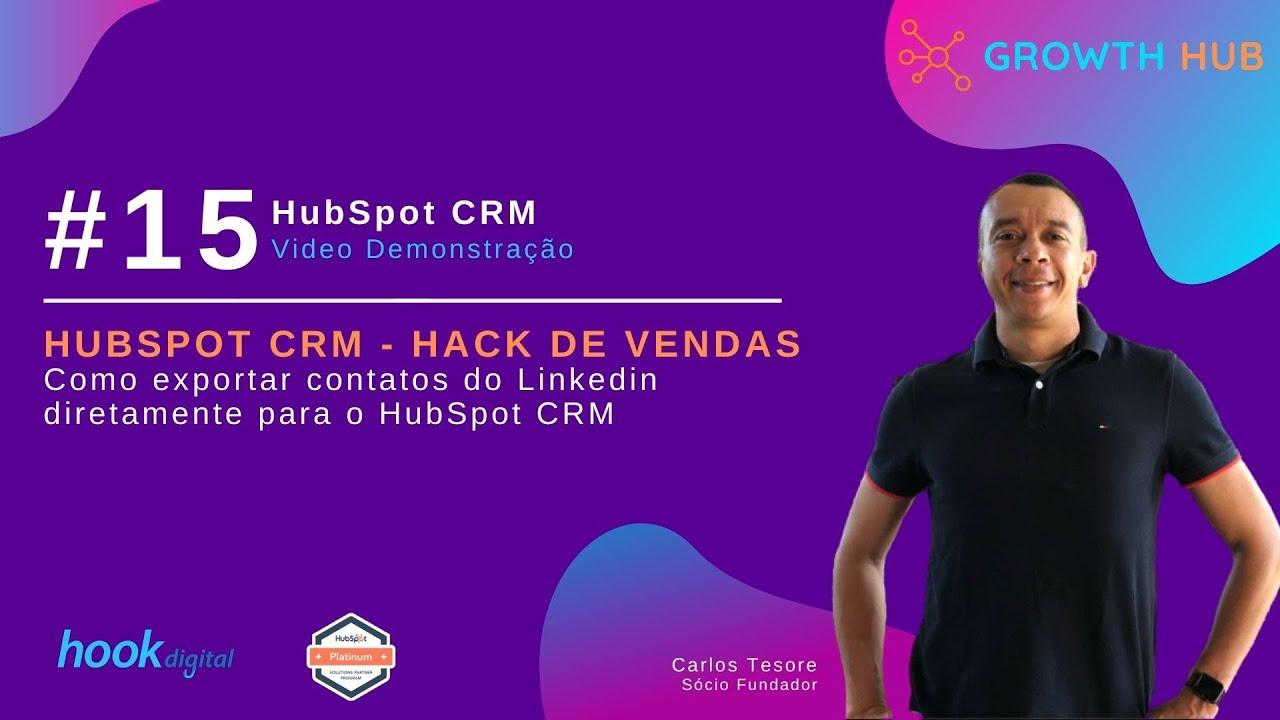 HubSpot Sales e CRM - Hack de vendas com uso do Linkedin (Completo)