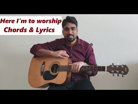 Here I Am To Worship Ll Worship Song Ll Guitar Tutorial Mp3