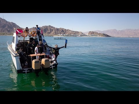 "Scuba Diving Trips In Fujairah "" Dibba Rock "" with Nemo Diving Center"