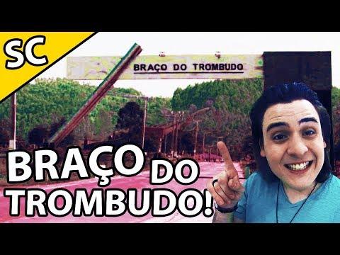 BRAÇO DO TROMBUDO DE VERDADE!