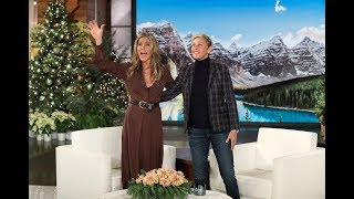 With Jennifer Aniston turning 50 next year, Ellen offered to host her birthday party on her show! Plus, the actress talked about FaceTiming with Ellen to stay in touch, and taking boxing lessons to stay in shape.  #JenniferAniston #TheEllenShow #Dumplin