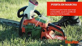 Motosierra Bauker 36,9 cc. - Sodimac Homecenter Argentina