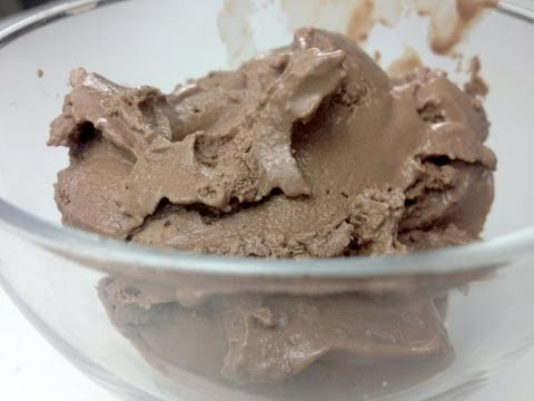 Video Chocolate Ice Cream - Low Carb Recipe