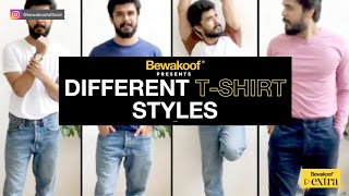 Different T-shirt Styles | Bewakoof T-shirts | T-shirts for Men