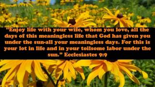 Quote about marriage and love from Bible | Bible verses about love and marriage and family