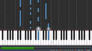 "ALL THAT I'M LIVING FOR - Evanescence [piano tutorial by ""genper2009""]"