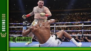 LIVE CHAT: ANTHONY JOSHUA SAYS ANDY RUIZ LUCKY PUNCH CAUSED 4 KNOCKDOWNS AND A TKO