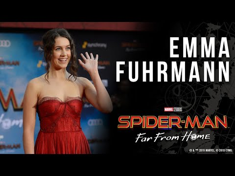 Emma Fuhrmann (Cassie Lang) on shipping Peter + MJ LIVE at the Spider-Man: Far From Home red carpet