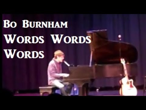 Bo Burnham   Old Version of
