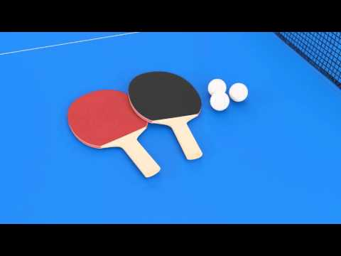 Butterfly Easifold DX22 Indoor Rollaway Table Tennis Table - Video Presentation